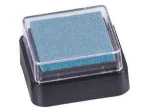 Světle modrý razítkovací polštářek
