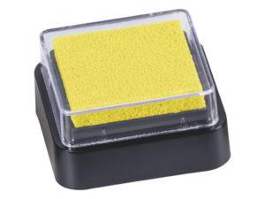 Žlutý razítkovací polštářek