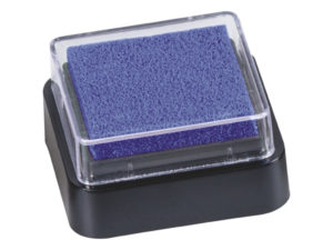 Razítkovací polštářek - tmavě modrý