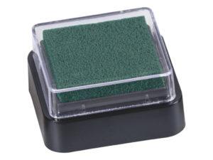 Razítkovací polštářek - tmavě zelený