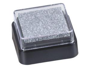 Razítkovací polštářek - stříbrný