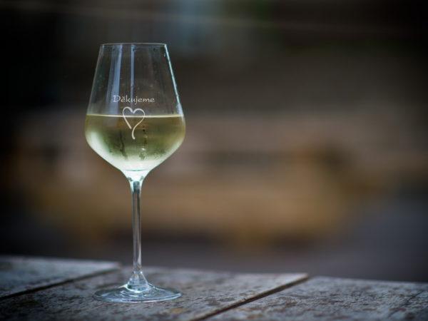 Děkujeme - 2 sklenice na víno
