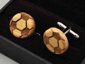 Manžetové knoflíčky - football