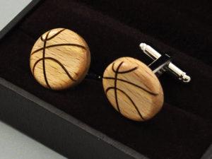 Manžetové knoflíčky - basketball