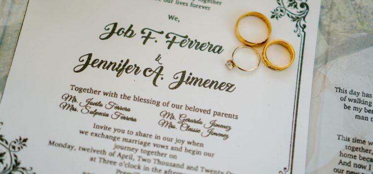 Jak ušetřit peníze za svatební oznámení?